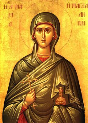 Покровительница храма - Святая Равноапостольная Мария Магдалина