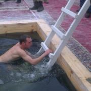 Крещение. Карловское водохранилище.