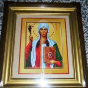 Святая равноапостольная Нина, икона
