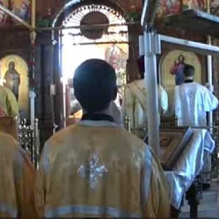 Престольный праздник 2011 храм Св. Марии Магдалины